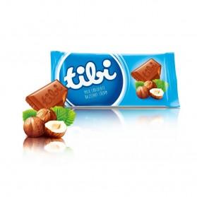Milk chocolate with hazelnut cream 100 g