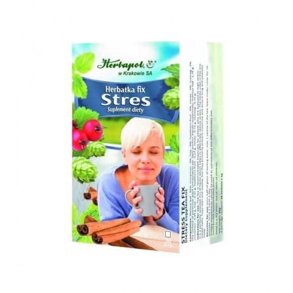 HERBAPOL STRESS TEA FIX 20 TEA BAGS