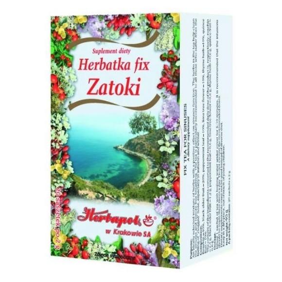 HERBAPOL TEA FOR SINUSES 20 TEA BAGS