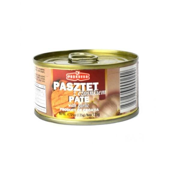 Podravka Pate Pork with Galic135g/4.72oz