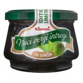 Raureni dulceata nuci verzi intregi in sirop 280gr