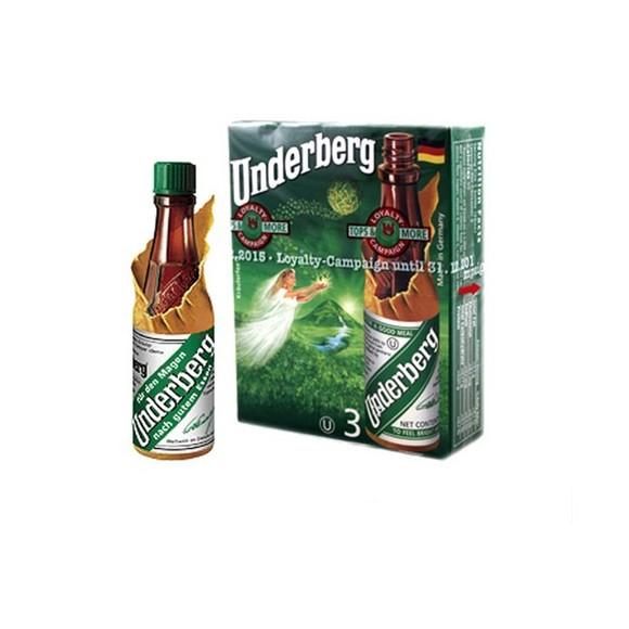 Underberg Natural Herb Bitters (3 bottles) by Underberg