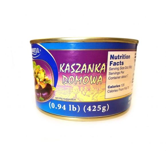 Lowell Canned Polish Kiska (kaszanka) 14.99oz/425g