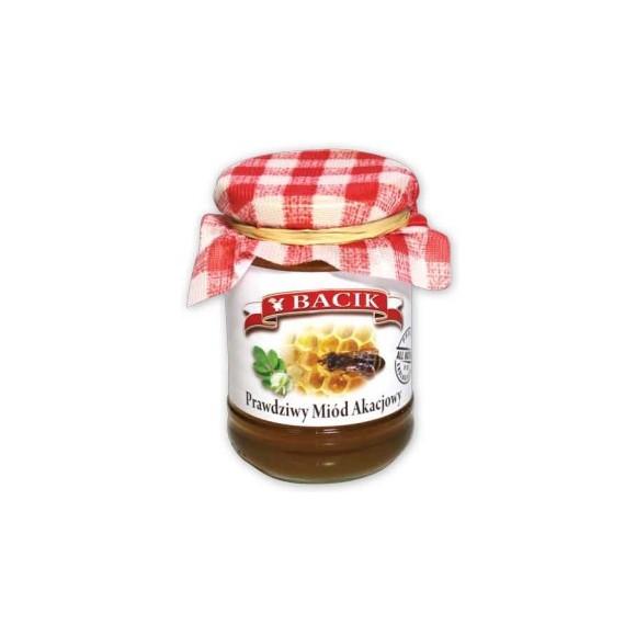 Bacik Acacia honey, Miód akacjowy, 13,5 oz
