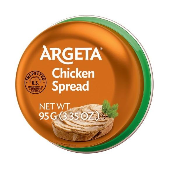 ARGETA CHICKEN SPREAD 95g/3.35oz