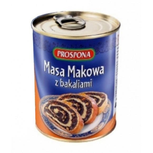 Prospona Poppy Seed Filling / Masa Makowa 400g