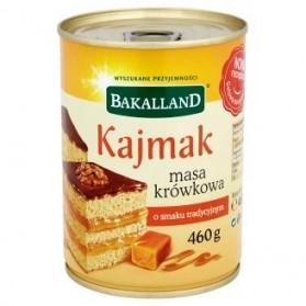 Bakkaland Fudge caramel cream hazelnut flavor 460g