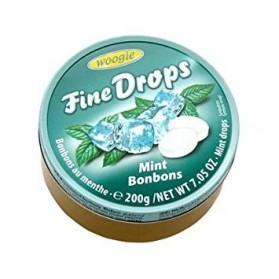 Woogie Fine Drops Mint Refreshing Candies 200g/7.05oz