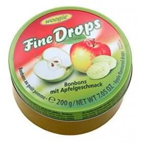 Woogie Fine Drops Apple Flavored Candies 200g/7.05oz