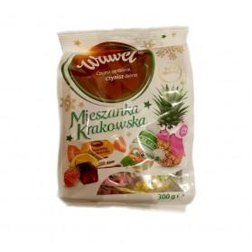 Wawel Christmas Chocolate Coated Jelly / Mieszanka Krakowska 300g/10.58oz
