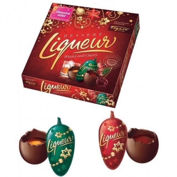 Chocolate & Eggnog Liqueur Filled Chocolate 220g