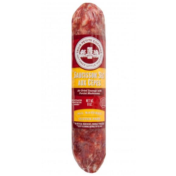 Air Dried Sausage with Porcini Mushrooms 8oz
