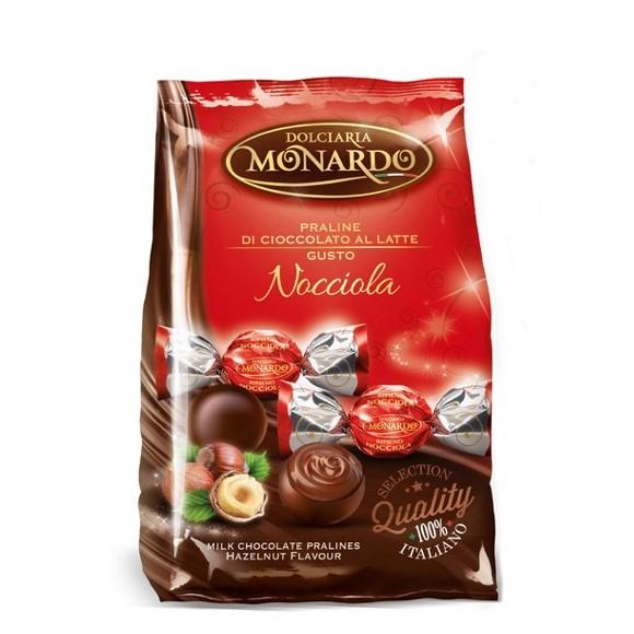 Dolciaria Monardo- Nocciola Hazelnut Chocolate Pralines in a Bag 3.53oz