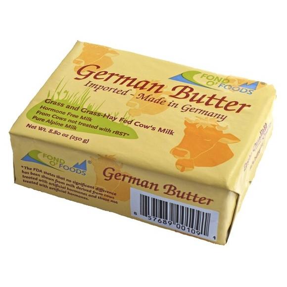 Fond O' Foods German Butter 250g