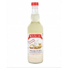 Sourdough for White Borsch Bacik , Polski Zurek Koncentrat Zakwasu 500ml