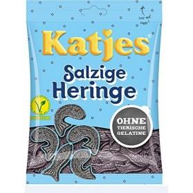 Katjes Salzige Heringe 200g (Salty Licorice Herrings 7oz)
