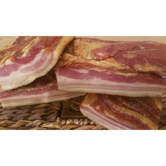 Bacon Smoked ,Kolozsvari Szalonna , Slanina Afumata Approx. 1.00 lb