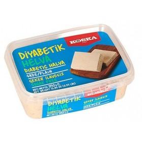 Koska Diabetic Halva Plain, No Sugar Added 350g