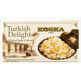 Koska Turkish Delight with Hazelnut,Pistachio, and Coconut 500g