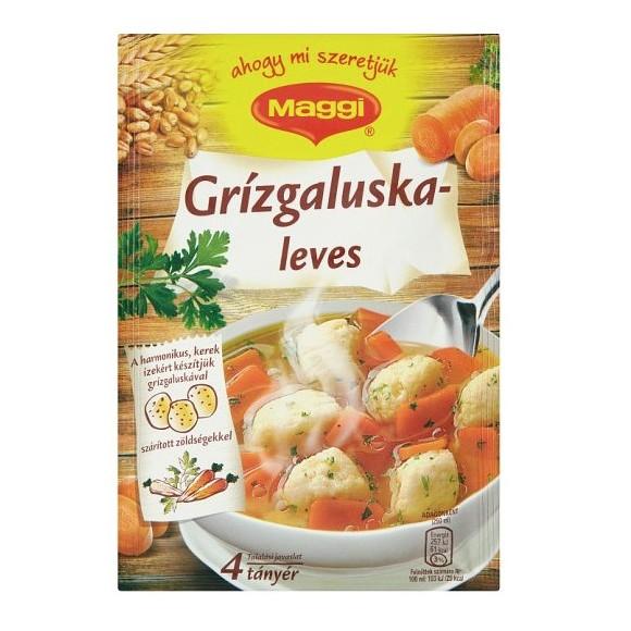 Maggi Grießklößchen Suppe / Semolina Dumpling Soup Mix 100 g./3.53oz.
