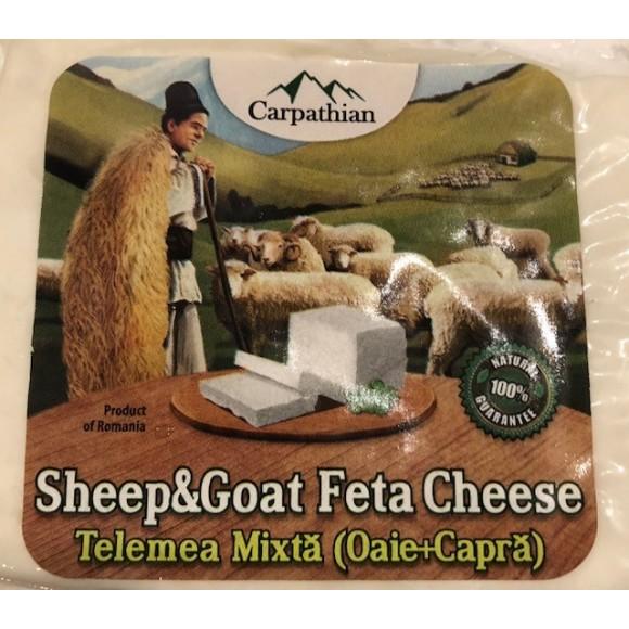 Carpathian Sheep and Goat Feta Cheese 28g