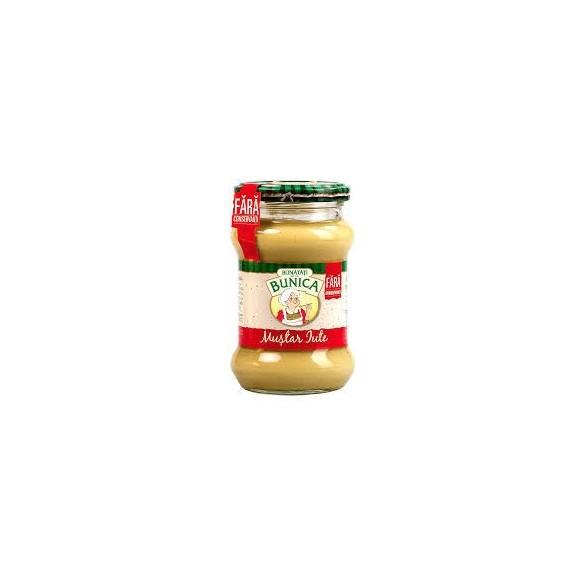 Bunatati Bunica Hot Mustard, Mustar iute Bunatati de la Bunica 270g