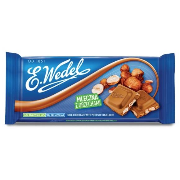 Wedel Hazelnuts Milk Chocolate 90g/3.17oz