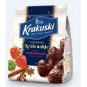 """Krakuski """"Pierniki Krolewskie"""" Gingerbread Cakes with Strawberry in Chocolate 150g/5.3oz"""