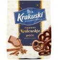 """Krakuski """"Pierniki Krolewskie"""" Pretzels Gingerbread Cakes with Chocolate 150g/5.3oz"""