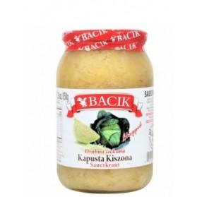 Bacik Sauekraut with Carrots Chopped / Kapusta Kiszona Drobno Siekana 850g/29oz