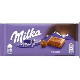Milka Noisette Hazelnut Milk Chocolate Confectione 100g/3.52oz