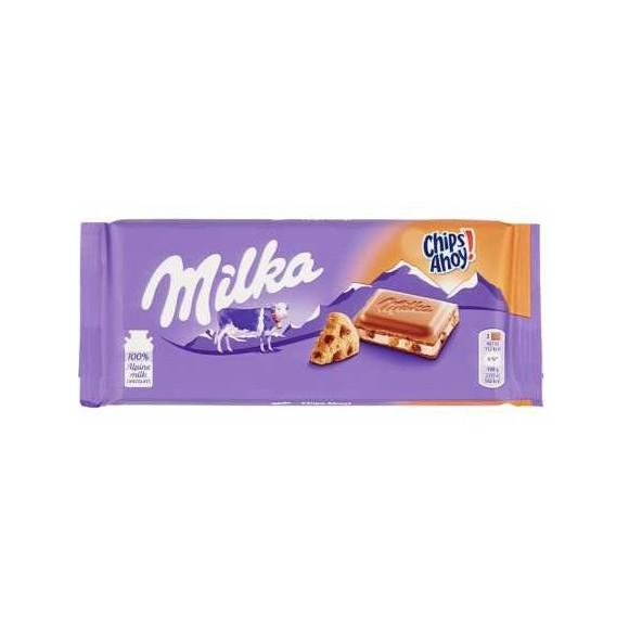 Milka Chips Ahoy Chocolate Bar 100g./3.53oz.