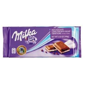 Milka Joghurt / Milk Chocolate with Yogurt Creme Filling 100g/3.52oz