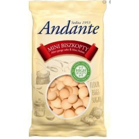 Andante Mini Sponge Cakes, Mini Biszkopty 120g