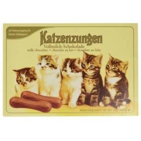 Katzenzungen Vollmilch-Schokolade, Cat's Tongue Chocolates 3.5oz