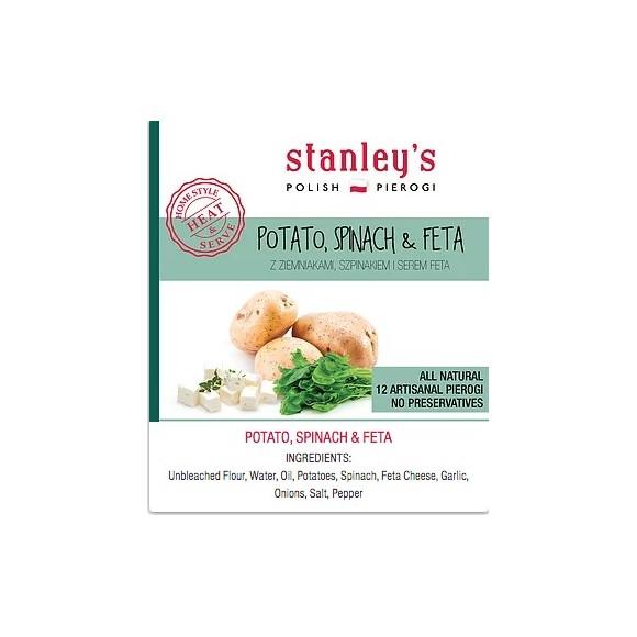 Stanley's Potato, Spinach, and Feta Pierogi 16 oz