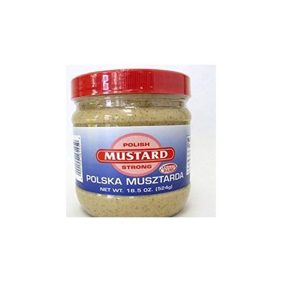 Polish Mustard Strong, Polska Musztarda 225g