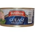Krakus Chopped Pork with Pork Skin, Gulasz Angielski 10.5 oz.