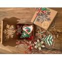 Iced Gingerbread Handmade Cookies (Pack of 5)/ Mezeskalacs/ Pierniczki swiateczne