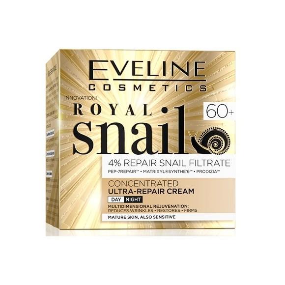 Eveline Cosmetics Royal Snail Day and Night Cream 60+ 50ml