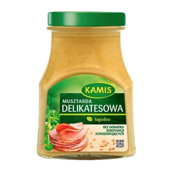 Kamis Delicacies Mustard Mild 280g/9.87oz