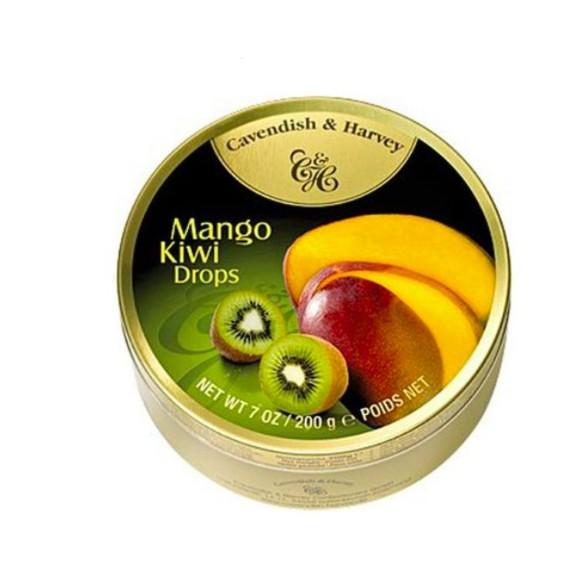 Cavendish & Harvey Mango and Kiwi Drops 200g