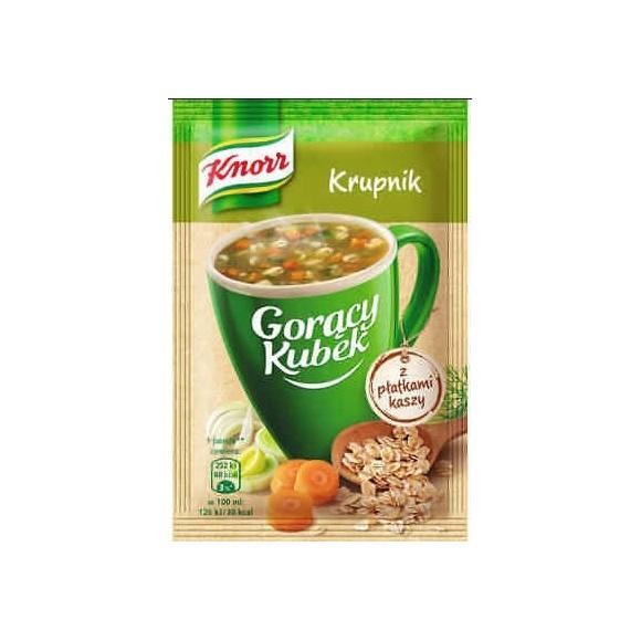 Knorr Hot Cup Soup with Barley Flakes/ Krupnik a Platkami Kaszy18g