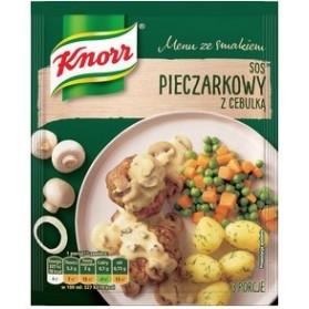 Knorr Mushroom Sauce with Onion/ Sos pieczrkowy a cebulka 37 g