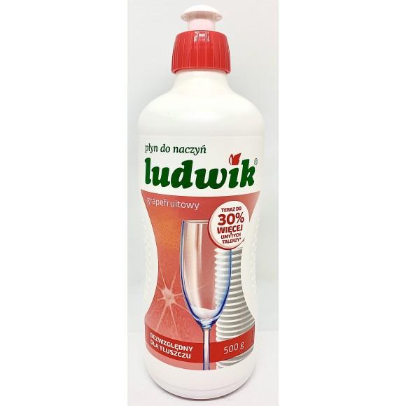 Ludwik Plyn Do Naczyn Grapefruitowy / Grapefruit Dish Soap 500g