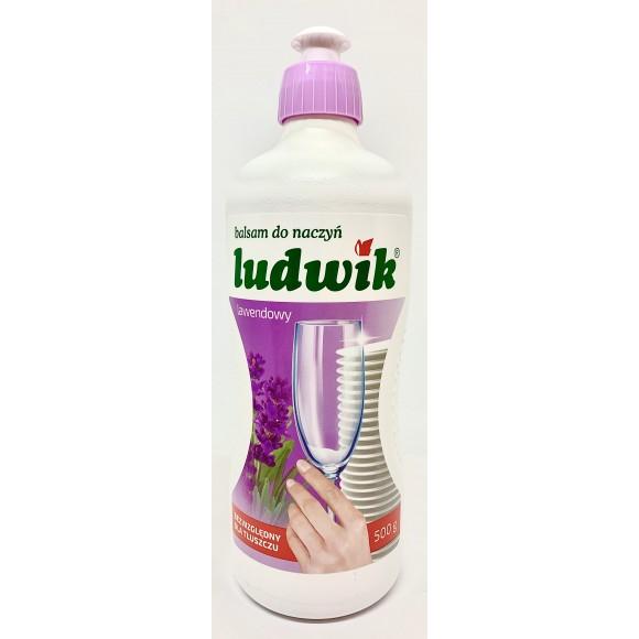 Ludwik Plyn Do Naczyn Lawendowy / Lavender Dish Soap 500g