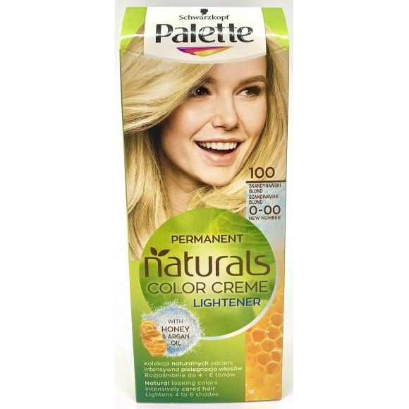 Palette Permanent Natural Colors Creme Lightener 100 Scandinavian Blonde