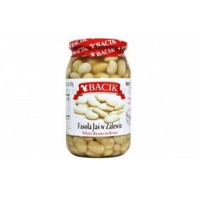 Bacik White Beans in Brine/Fasola Jas w Zalewie 900mL/31 oz