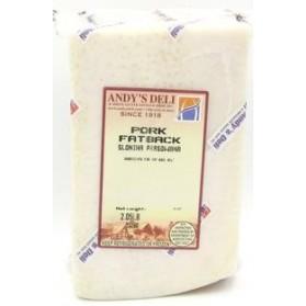 Andy's Pork Fatback/Slonina Prasowana Approx 2 lbs