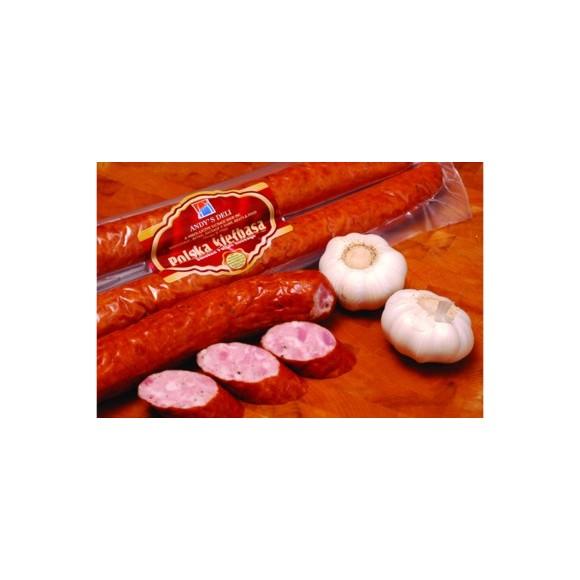 Andy's Smoked Polish Sausage/Kielbasa Polska Approx 1 lbs